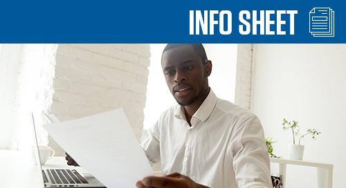 Credit Application Info Sheet