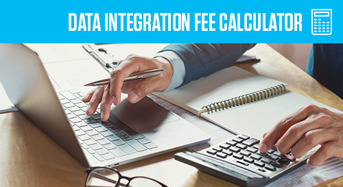 Data Integration Fee Calculator