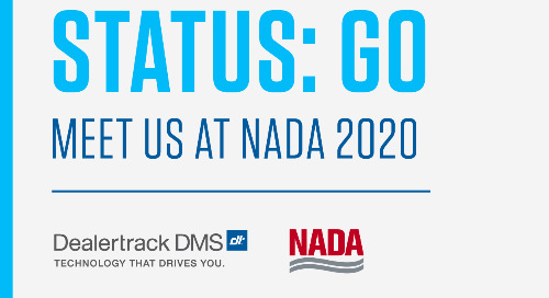 Pave the Way for Profitable Growth at NADA 2020