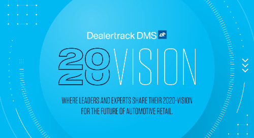 Dealertrack 2020: True Partners in Performance Management