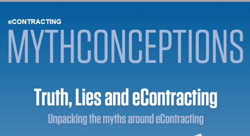 Unpack the Myths around eContracting