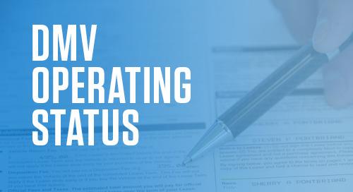 COVID-19 UPDATE – State by State DMV Operating Status