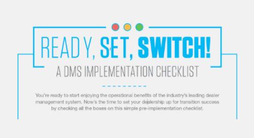 A DMS Implementation Checklist