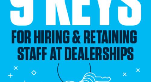 9 Keys for Hiring & Retaining Staff
