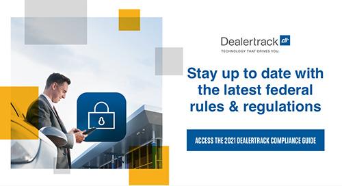 Dealertrack 2021 Compliance Guide