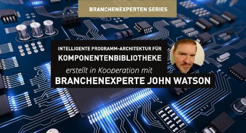 Intelligente Programm-Architektur für Komponentenbibliotheke