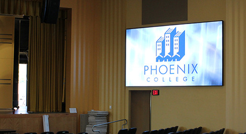 Phoenix College: Upgrading A Historic Auditorium The Smart Way