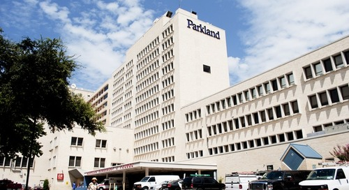 Parkland Hospital, High-Tech Healing and NanoLumens