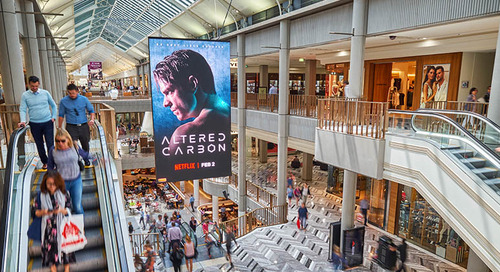 Digital Place Solutions Helps QICGRE Malls Generate Revenue 'Out Of Thin Air' With Ceiling-Hung Double-Sided NanoLumens® LED Displays