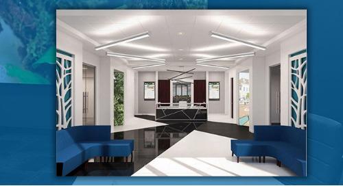 NanoLumens® AWARE® Platform Brings Fine Art and High-Tech Views to New City Hall in Peachtree Corners, Georgia