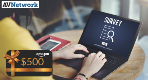 LED? LCD? Take Our Survey For a Chance at a $500 Amazon Gift Card!