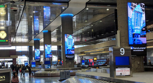 The Role of Dynamic Signage in an Evolving Airport Environment