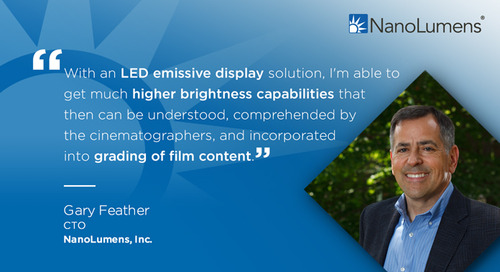 Gary Feather: Direct View LED Is About Changing Experiences, Not Just Technology