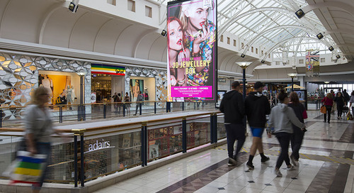 NanoLumens Installs Second LED Display At The Highpoint Shopping Center in Australia