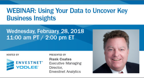 Upcoming Webinar: Using Your Data to Uncover Key Business Insights