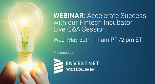 Upcoming Webinar: Accelerate Success with our Fintech Incubator Live Q&A Session
