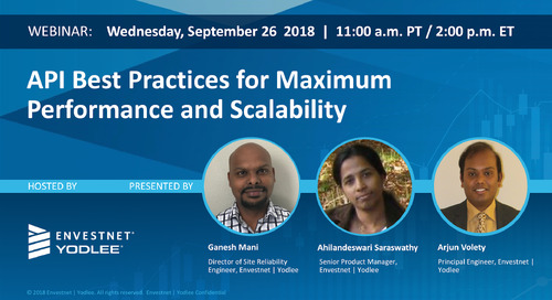 On-Demand Webinar: API Best Practices for Maximum Performance and Scalability