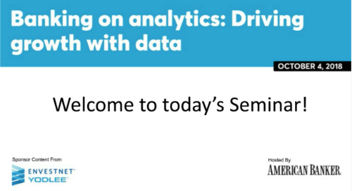 On-Demand Webinar: Banking on Analytics: Driving Growth with Data
