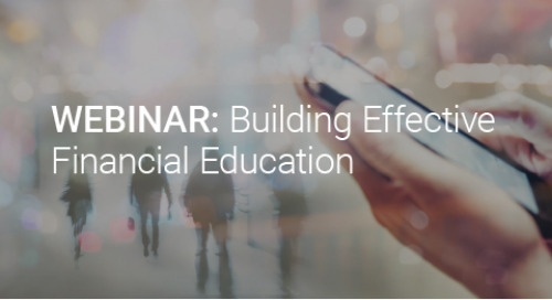 Upcoming Webinar: Building Effective Financial Education