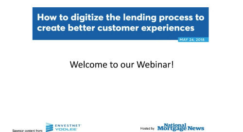 On-Demand Webinar: How to Digitize the Lending Process to Create Better Customer Experiences