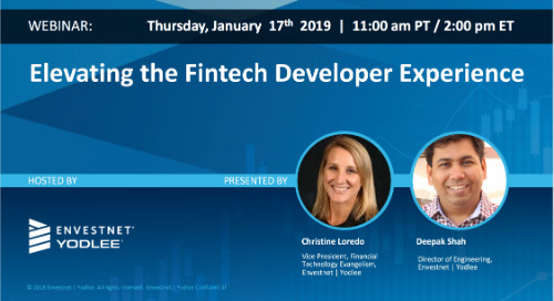 On-Demand Webinar: Elevating the Fintech Developer Experience