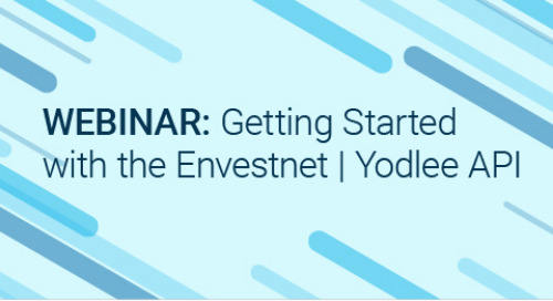 Upcoming Webinar: Getting Started with the Envestnet | Yodlee API