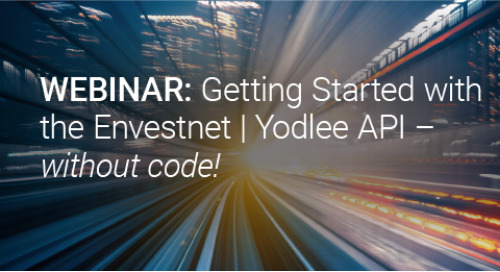 Upcoming Webinar: Getting Started with the  Envestnet | Yodlee API- without code!
