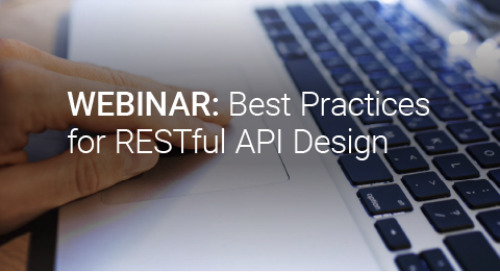Upcoming Webinar: Best Practices for RESTful API Design