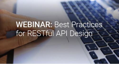 Upcoming Webinar: Best Practices for RESTful API Design