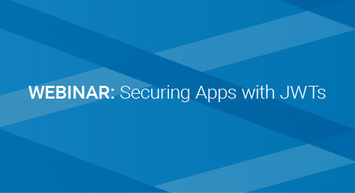 Upcoming Webinar: Securing Apps with JWTs