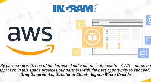 Ingram Micro Cloud Canada announces the addition of Amazon Web Services to its Cloud Services Portfolio
