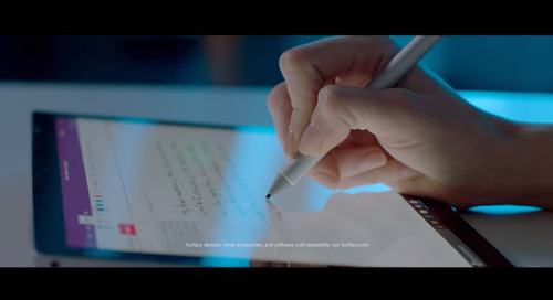 Microsoft Surface: The Power of the Pen