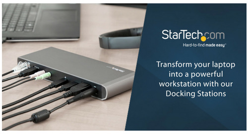 3 Reasons You Need a Universal Docking Station