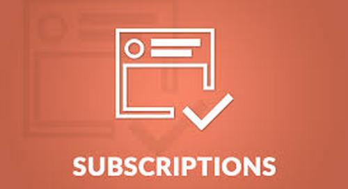 Adobe Acrobat Subscription