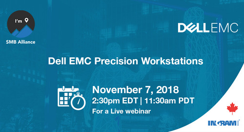 LIVE WEBINAR on Dell EMC Precision Workstations