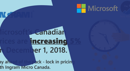 Microsoft Prices are Increasing 5% for Canada – How, Why, and When?
