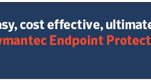 Top 6 Reasons Symantec's SEP Cloud Protects your Endpoints through Cloud