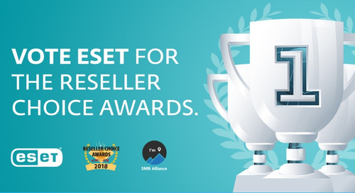 ESET at the eCN Reseller Choice Awards