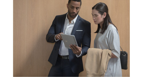 Microsoft Surface for Financial Services