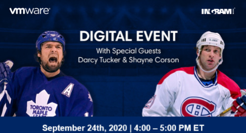 Shayne Corson & Darcy Tucker Live, with VMware and Ingram Micro on Sept. 24, 2020