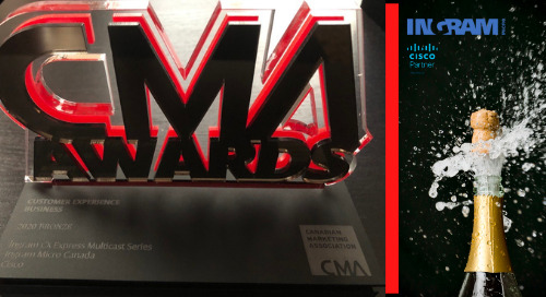 Ingram Micro Wins Bronze at the CMA Award Show & Gala 2020