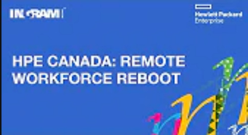 Remote Workforce Reboot with HPE Canada