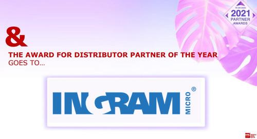 Ingram Micro Named CDW 2020 Distributor Partner of the Year