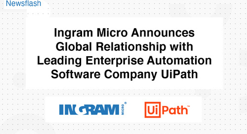Entire UiPath Portfolio Now Available to Ingram Micro Channel Partners