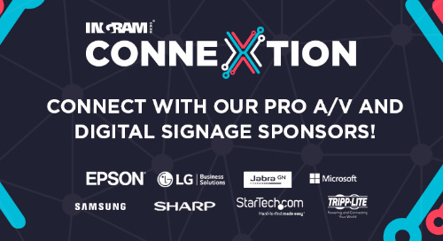 Pro A/V and Digital Signage Event Resources