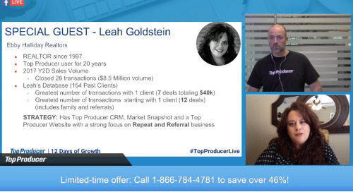 Leah Goldstein: 91% Repeat & Referral Business in 2017