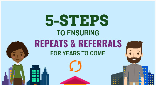 5 steps to a healthy repeat & referral business