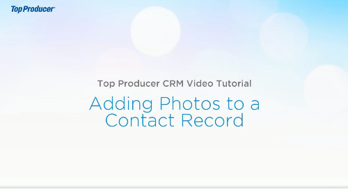 Video Tutorial: Adding Photos to a Contact Record