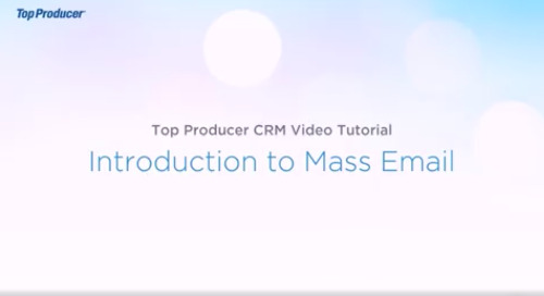 Video Tutorial: Sending a Mass Email
