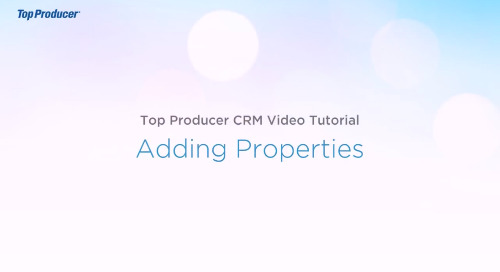 Video Tutorial: Adding Properties